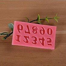 MSYOU Moule en Silicone Rose 26 Lettres de