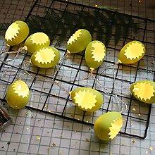 Mtawou Guirlande lumineuse LED pour Noël, œufs