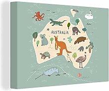MuchoWow Photo sur toile - Animaux - Australie -