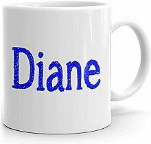 Mug à café Diane – Tasse personnalisée pour