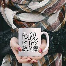 Mug à café Fall is My Jam