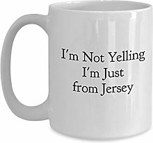 Mug à café New Jersey - I'm Not Yelling