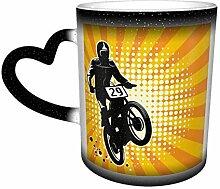 Mug à changement de chaleur, tasse à café ou à