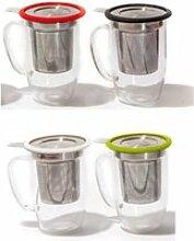 Mug à thé Tastea Yoko Design Blanc