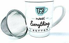 Mug avec couvercle et filtre 350 ml 2 mod