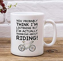 Mug avec inscription « You Probably think I'm