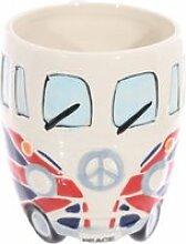 Mug camping car - drapeau britannique londres