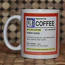 Mug de prescription personnalisé