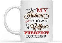 Mug en céramique « My Havana Brown and Coffee