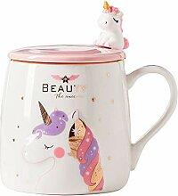 Mug Licorne Mignonne tasse de café en céramique