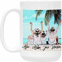 Mug personnalisable avec inscription « The Family