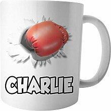 Mug personnalisé gant de boxe – Cadeau –
