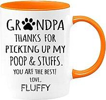 Mug personnalisé « Grandpa Thanks for Pick up My
