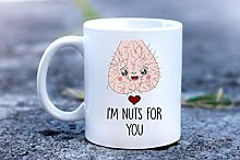 Mug personnalisé « I am Nuts for You » - Tasse