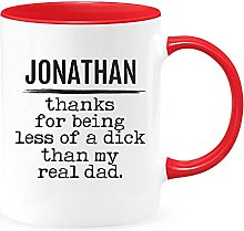 Mug personnalisé « Thank for Being Less of a