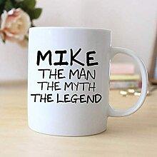 Mug personnalisé The Man The Myth The Legend