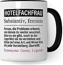 Mug professionnel pour hôtel - Inscription «