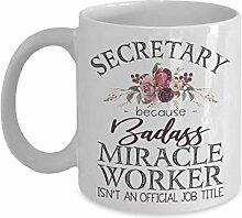 Mug secrétaire badass