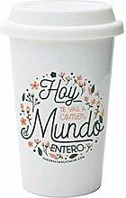 Mug take away - aujourd'hui vous allez manger