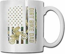 Mug Tasses Dirt bike dad Tasse en céramique