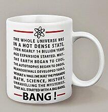 Mug The Big Bang Theory avec les paroles du