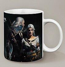 Mug The Witcher 3: Wild Hunt Geralt et Ciri -