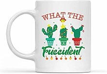 Mug « What The Fucculent Cactus Succulent Plant