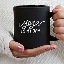 Mug Yo-ga is My Jam - Tasse à café en céramique