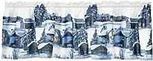 Muisto Tour de lit 60 x 250 cm Bleu