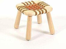 Multi-foncti solides Tabouret de bois enfant