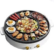 multifonction barbecue et hot pot,barbecue
