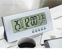 Multifonctionnel Horloge De Bureau LED Réveil