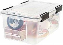 Multiroir - malle IRIS plastique transparent l.39