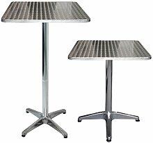 Multistore 2002 Table de bistrot/jardin pliante en