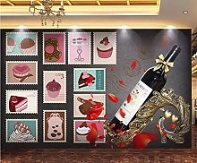 Mur Tissu 3D HD Image Personnaliser Papier Peint