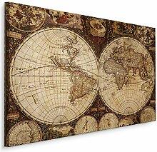 Muralo Image Ancienne Carte du Monde 90x60 Image