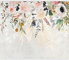 murando Papier peint intissé Fleurs 150x105 cm