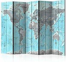 murando Paravent Carte du Monde Carte du Monde