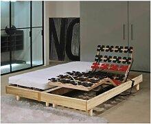 MURCIE Ensemble matelas + sommiers relaxation 2 x