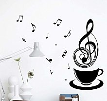 Musique Relaxante Thé Tasse À Café Noir