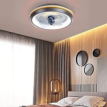 Mute 80W Moderne Dimmable Plafond Ventilateur