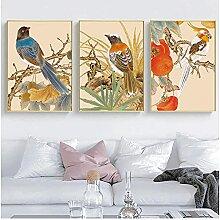 Muzimuzili Style Chinois Peinture Toile Affiche