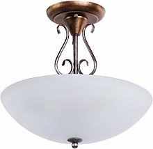 MW-Light 323012603 Plafonnier Rond Design Rustique