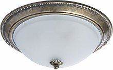MW-Light 450015503 Plafonnier Rond Design Rustique
