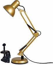 MXGP Lampe de Bureau à Bras pivotant avec Pince