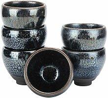 Mxzzand Tasse à thé en céramique 6