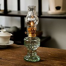 MYSY Lampe à pétrole en Verre Vintage Lanterne