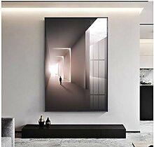 MZDesign Affiche Moderne Abstrait éclairage Art