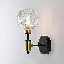 MZStech Industriel Vintage 15cm Verre Globe