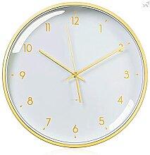 MZTYX Horloge Murale silencieuse sans tic-tac à